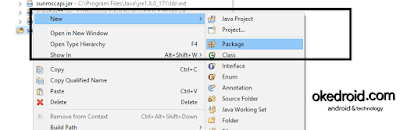 New > Package Eclipse IDE