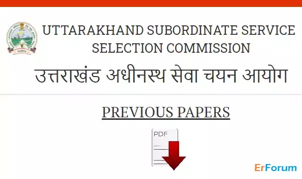 [PDF] UKSSSC JE Paper PDF Download
