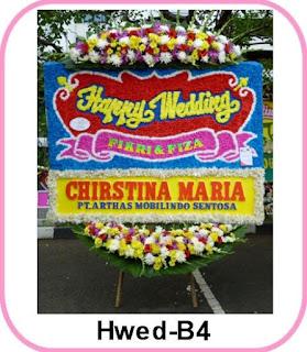 Bunga Papan Pernikahan Manggala Wanabakti