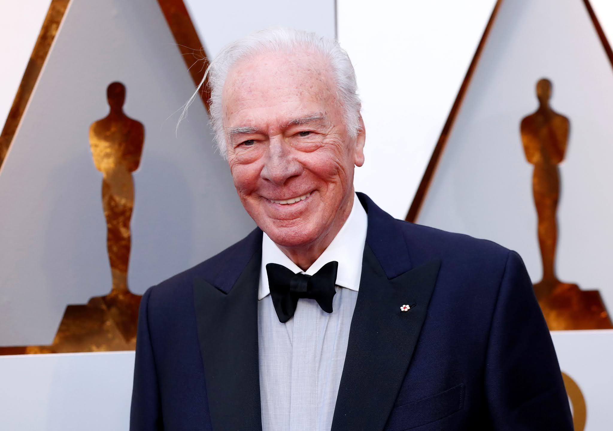 Murió a los 91 años Christopher Plummer, el actor más veterano en ganar un Oscar