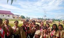 Gudep Lawang Kuari SMPN 1 Sekadau Rute Alam dan Sejarah