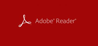 تحميل برنامج أدوب ريدر - adobe reader free download