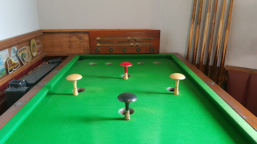 Bar Billiards at The Railway pub in Stockport