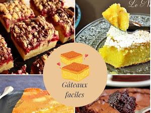 10 recettes de gâteaux faciles et rapides !