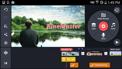 تطبيق KineMaster – Pro Video Editor لتحرير الفيديو النسخة المدفوعة