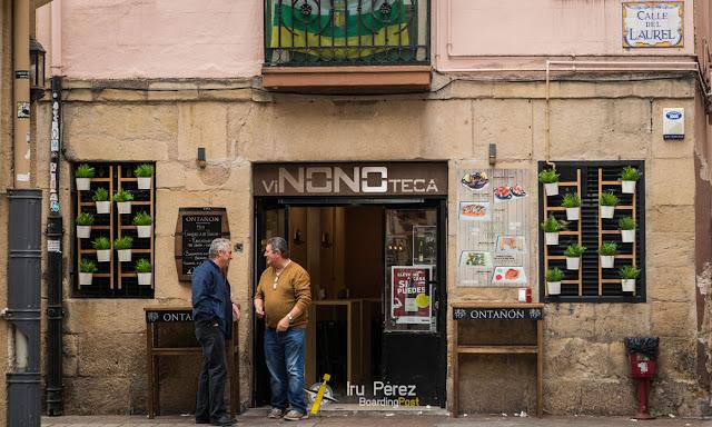 Bar de la calle Laurel, Logroño