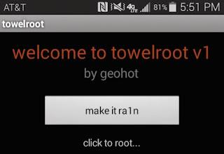 Towelroot, Root Android Sekali Klik!