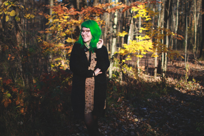 punky colours, jerome russell, green hair, ootd, wiw, cleveland blogger