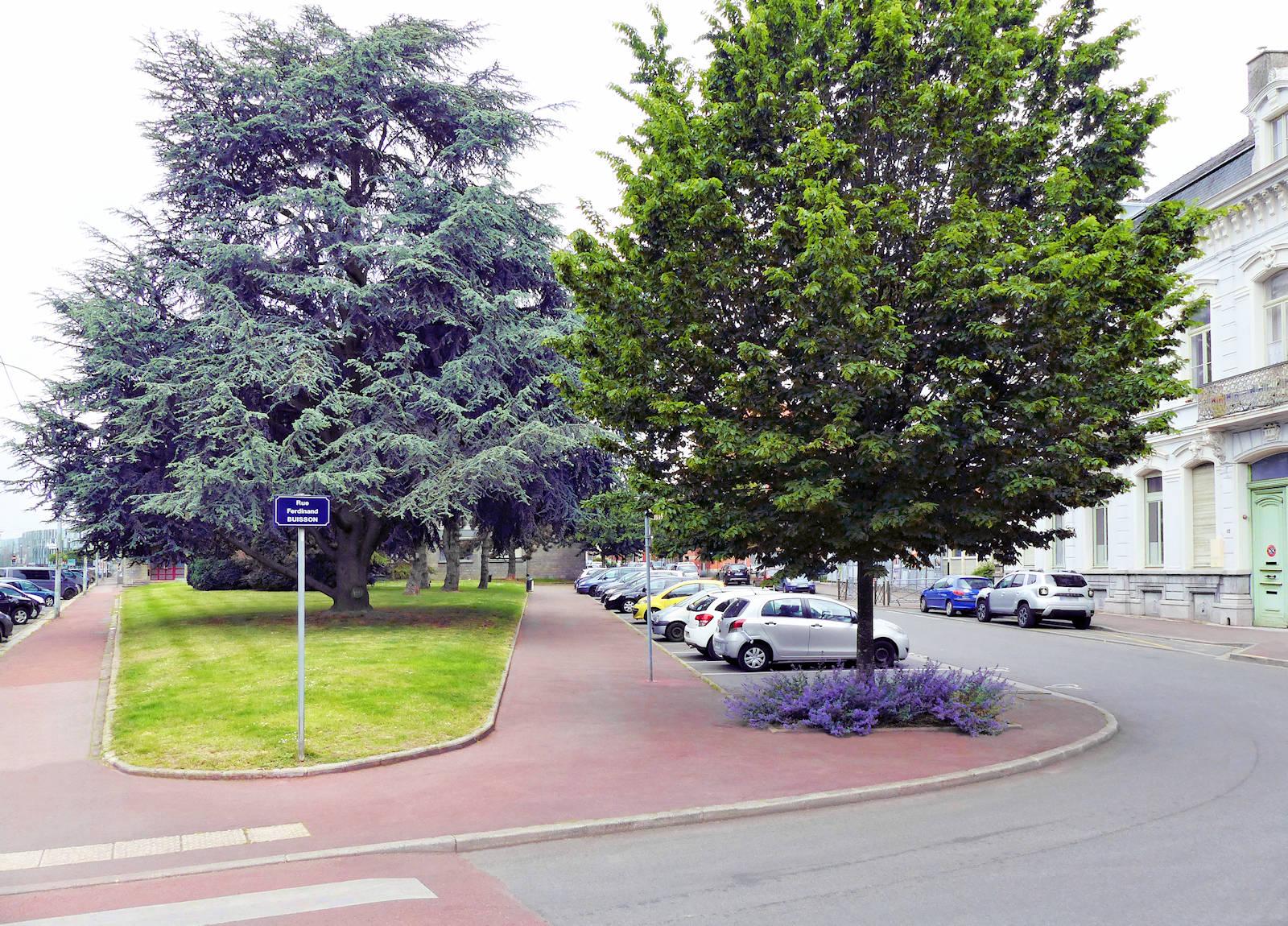 Rue Ferdinand Buisson, Tourcoing - école Corneille
