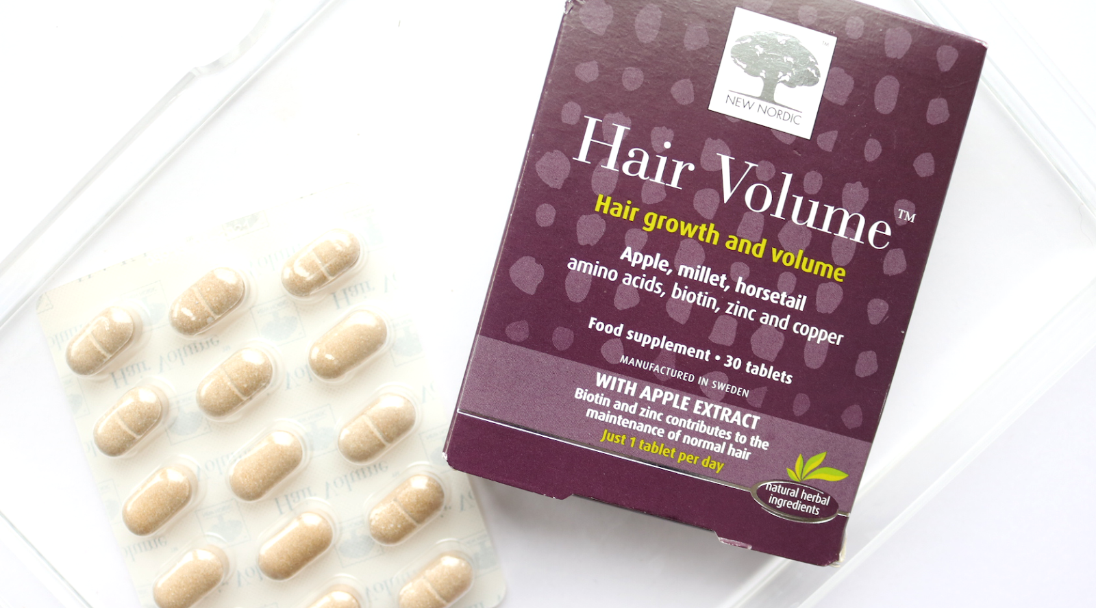 Health & Lifestyle: New Nordic Hair Volume, Hair Volume plus Nail Strong & Hair Volume Gummies - 3 Month Trial Review