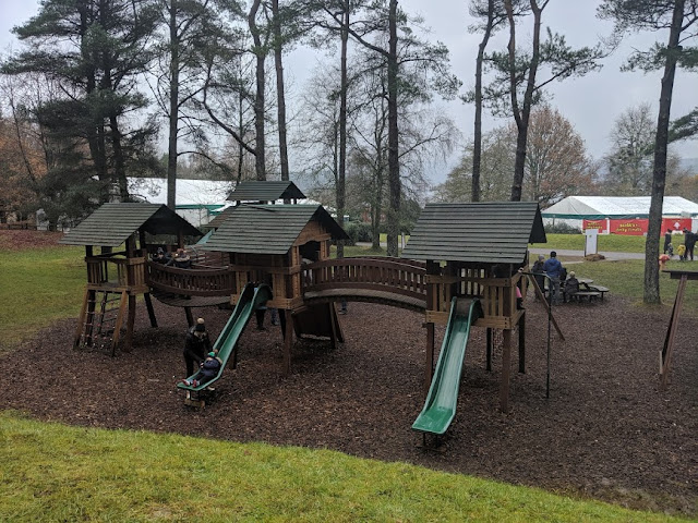 Play areas  at Kielder Winter Wonderland