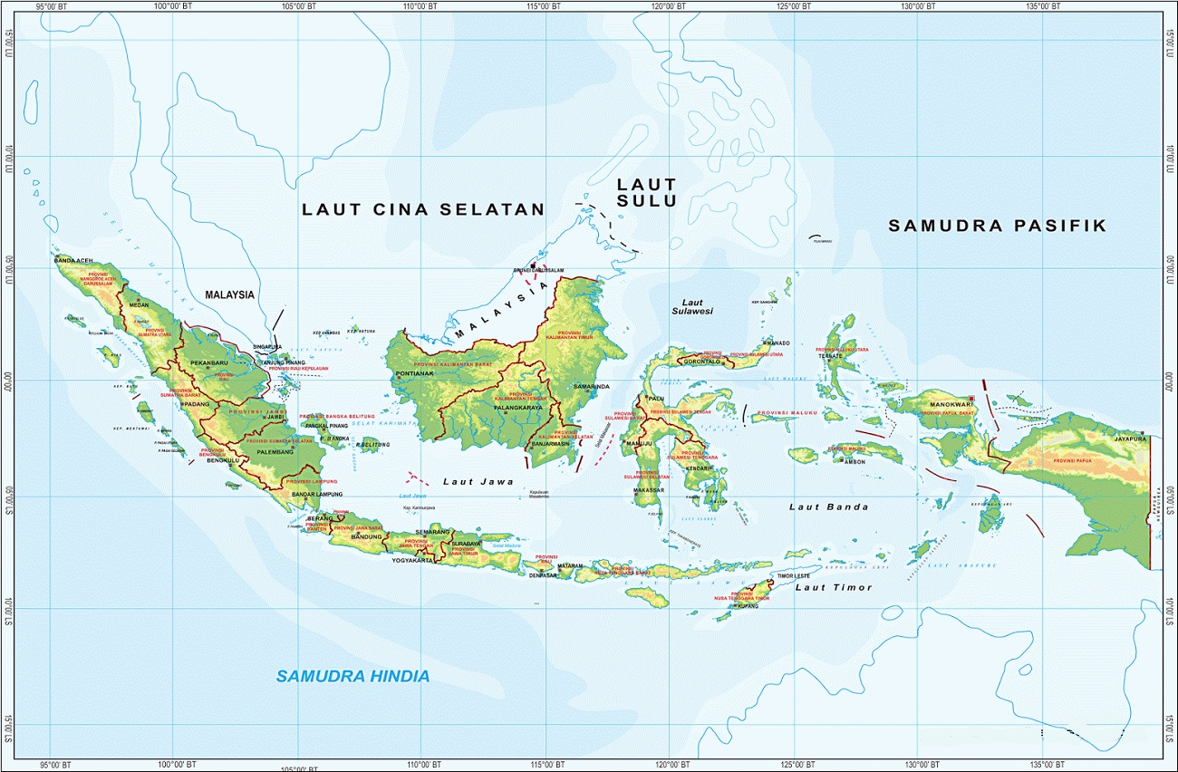 Peta Atlas Indonesia