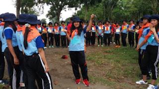 outbond kegiatan pra kuliah PSPP Penerbangan