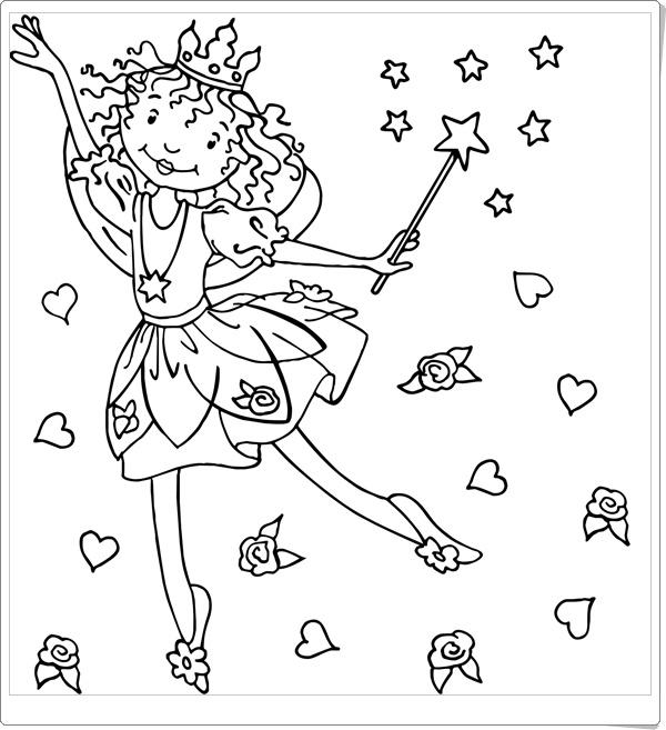 Malvorlagen Prinzessin Lillifee