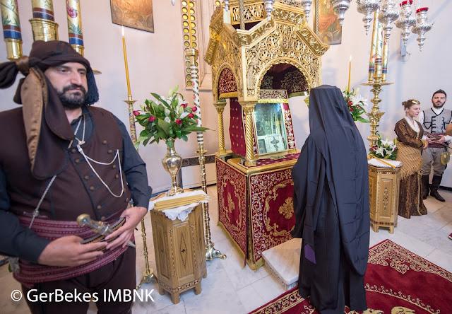 Ευλαβικό προσκύνημα του Πατριάρχου κ.κ. Βαρθολομαίου στην Παναγία Σουμελά στο Βέρμιο (Φωτο)