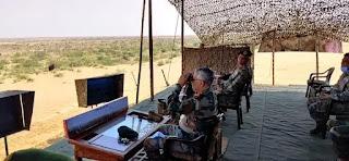 थल सेना प्रमुख ने जैसलमेर का दौरा किया Army Chief visits Jaisalmer