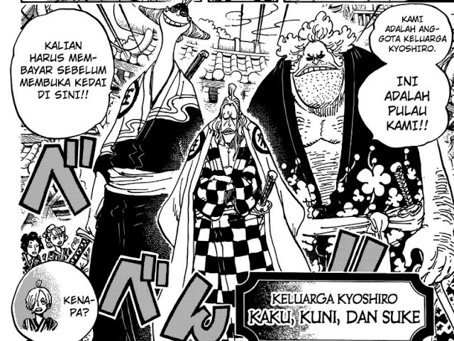 One Piece Manga 928 Indonesian: Sanji vs Subordinate Queen!