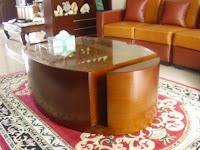 Desain Interior - Residential Furniture Interior / Furniture Interior untuk Rumah - Sofa, Meja Tamu, Almari Pakaian, Sekat Ruang Tamu, Kitchen Set, Meja Rias, Nakas, Almari Bawah Tangga