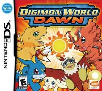 Rom Digimon World Dawn NDS