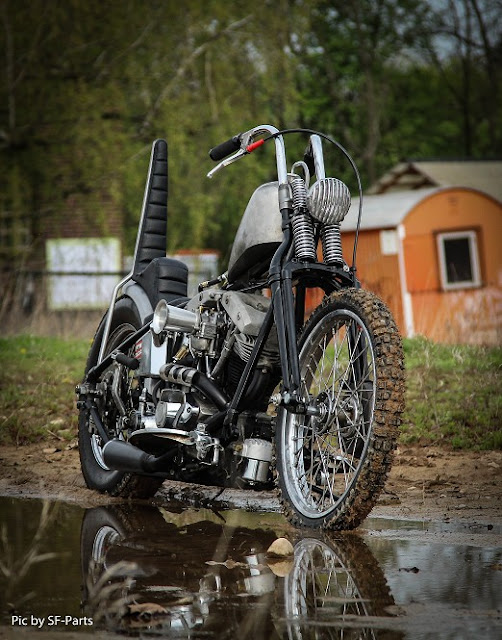 Harley Davidson Shovelhead By MB Cycles Hell Kustom