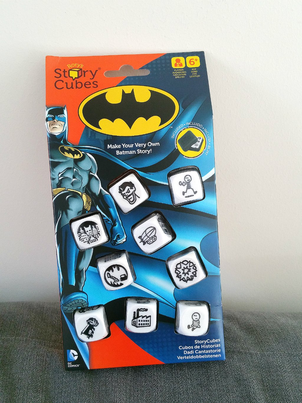 Storycube, Batman, educational games