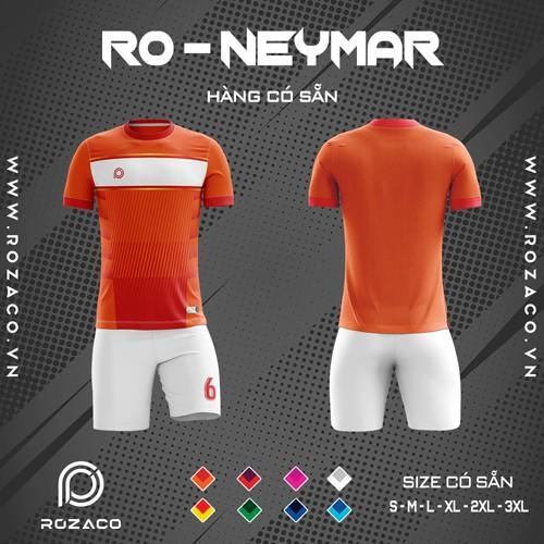 Áo Không Logo Rozaco RO-NEYMAR Màu Cam