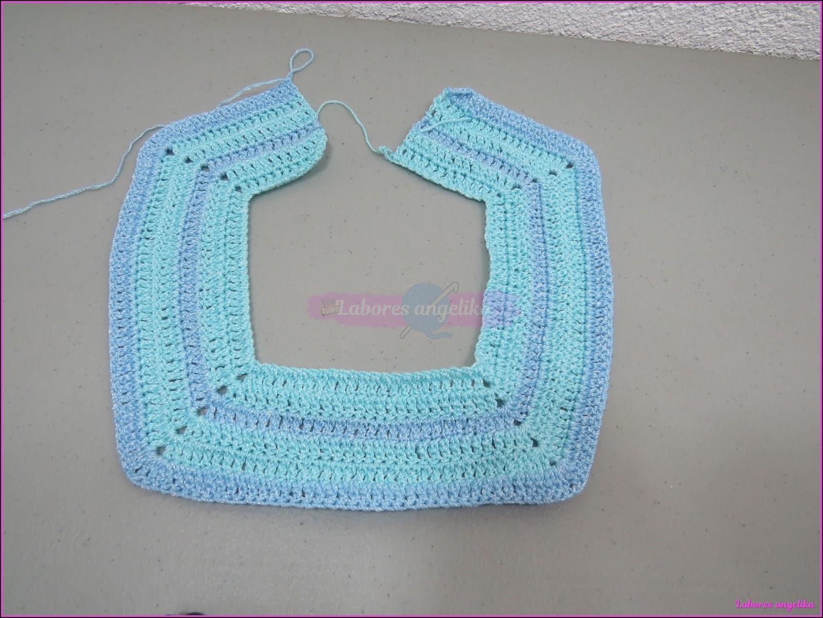 Bordar Tejer Crear Y Compartir Vestido A Crochet Para Niña