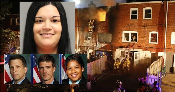 Sentencian a 30 años dominicana culpable por incendio intencional en el que murieron tres bomberos en Delaware