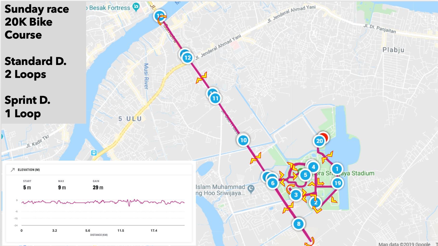 Bike 🚴 Palembang Triathlon • 2021