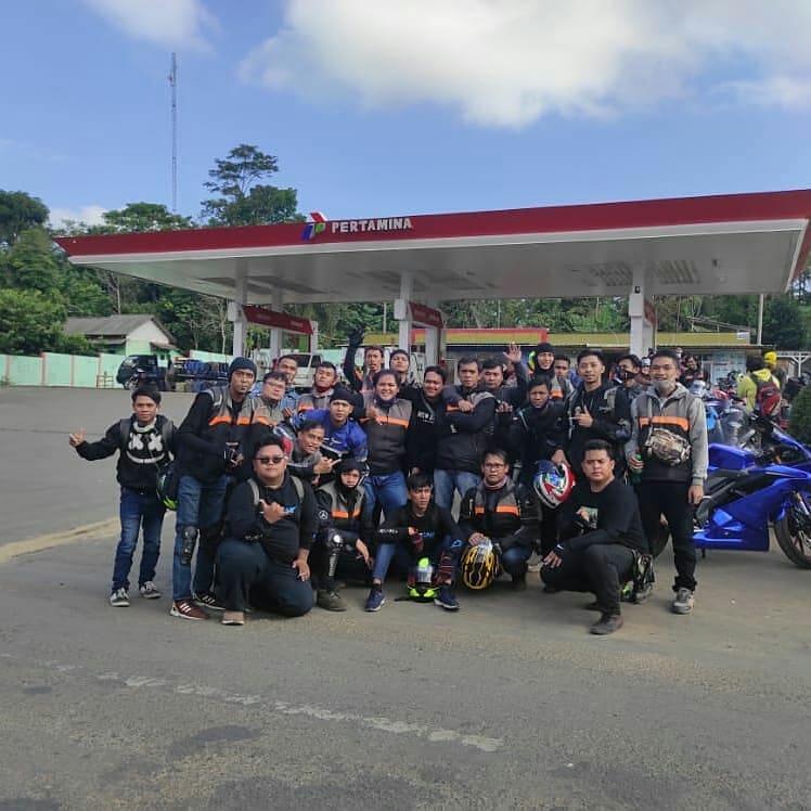 touring Komunitas Yamaha R15 Bogor
