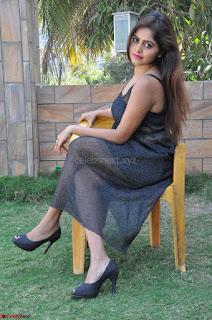 Pragya Nayan New Fresh Telugu Actress Stunning Transparent Black Deep neck Dress ~  Exclusive Galleries 042.jpg