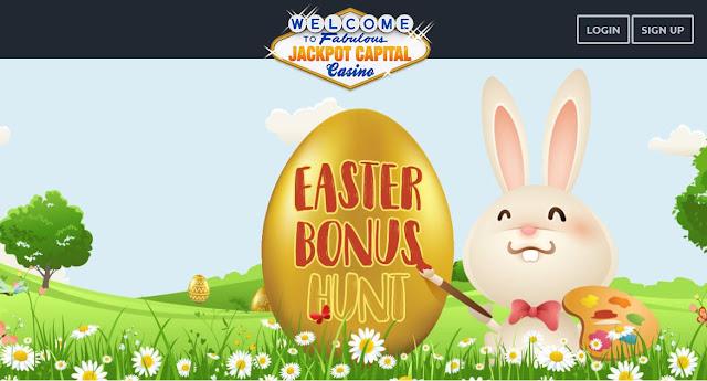 Jackpot Capital Casino Easter Egg Hunt
