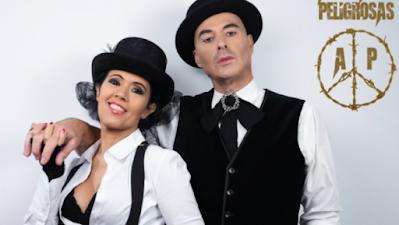 Amistades Peligrosas, dúo formado por Cristina Del Valle y Alberto Comesaña