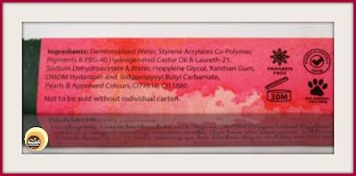 Ingredients of Nykaa GLAMOReyes 03 Enchanting Forest Liquid Eyeliner