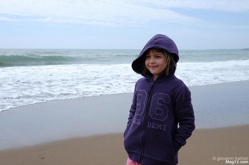 Ritratto sulla spiaggia