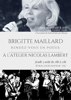 Poésie Brigitte Maillard Gravure Nicolas Lambert