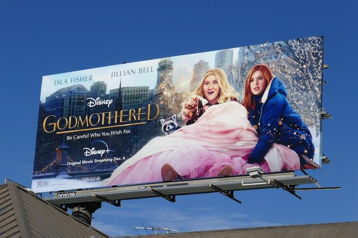 Godmothered movie billboard