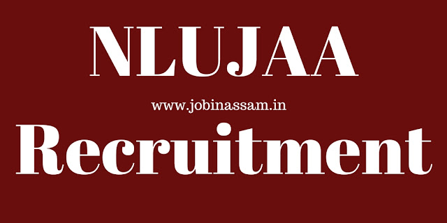 NLUJAA Recruitment 2018