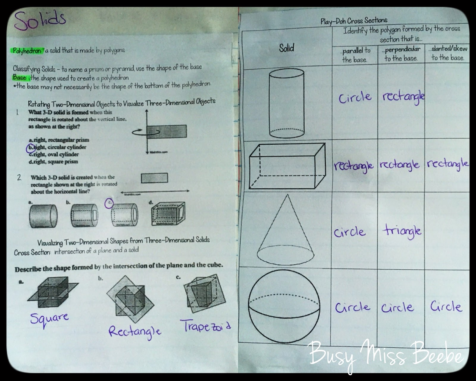 cross sections prisms year 8 au pdf