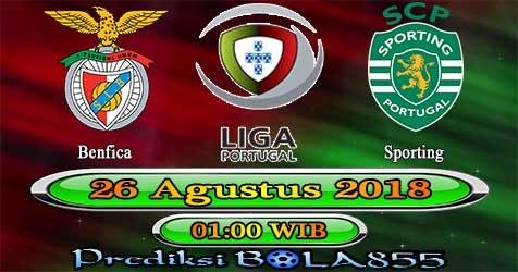 Prediksi Bola855 Benfica vs Sporting 26 Agustus 2018