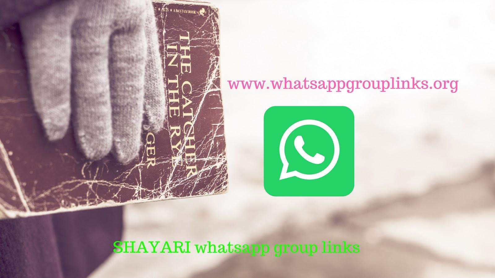 JOIN SHAYARI WHATSAPP GROUP LINKS LIST - Whatsapp Group Links