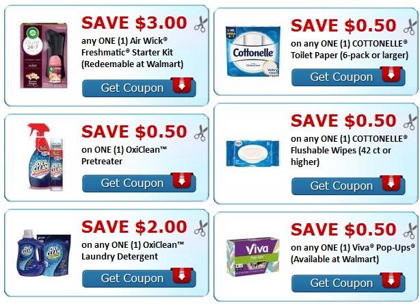 coupons-Colgate-OxiClean-Viva-Air Wick-Scott-Cottonelle-print-lrwc