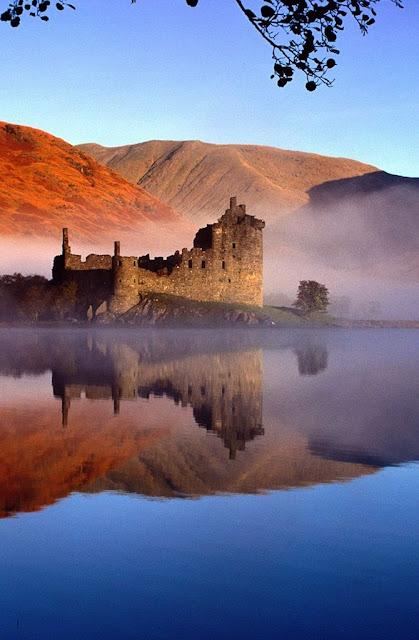 Kilchurn: ruína das mais sugestivas da Escócia
