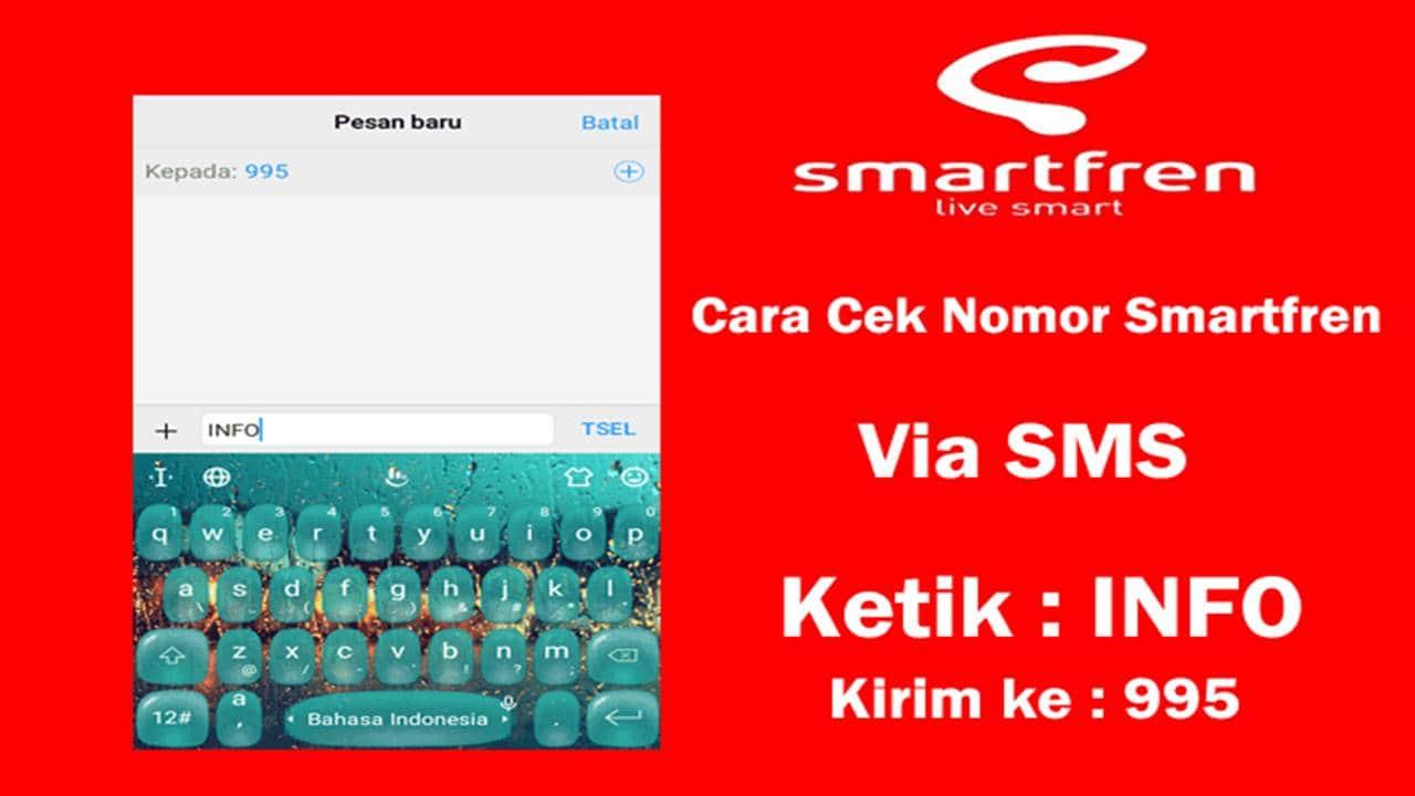 Cara Cek Nomor Smartfren melalui SMS