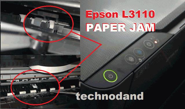 Printer Epson L3110 Paper Jam Beginilah Cara Melepasnya [Melepas ertas Nyangkut]