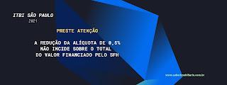 Alíquota do ITBI 2021 de São Paulo