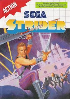 Strider, acción futurista en Sega Master System