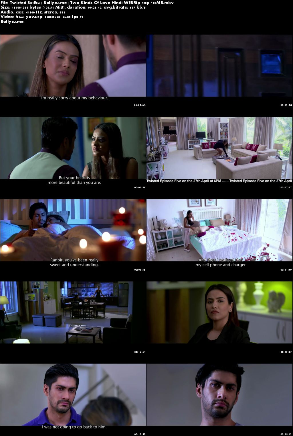 Twisted S01E04 Two Kinds Of Love WEBRip 100MB Hindi 720p Download
