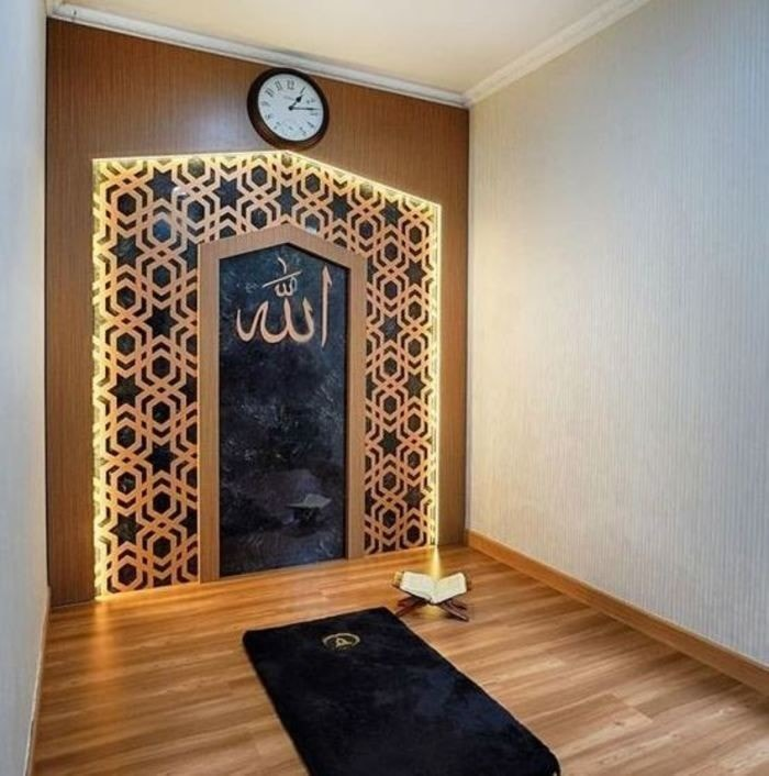Home Design Ideas 2019: Prayer Room Decoration Ideas