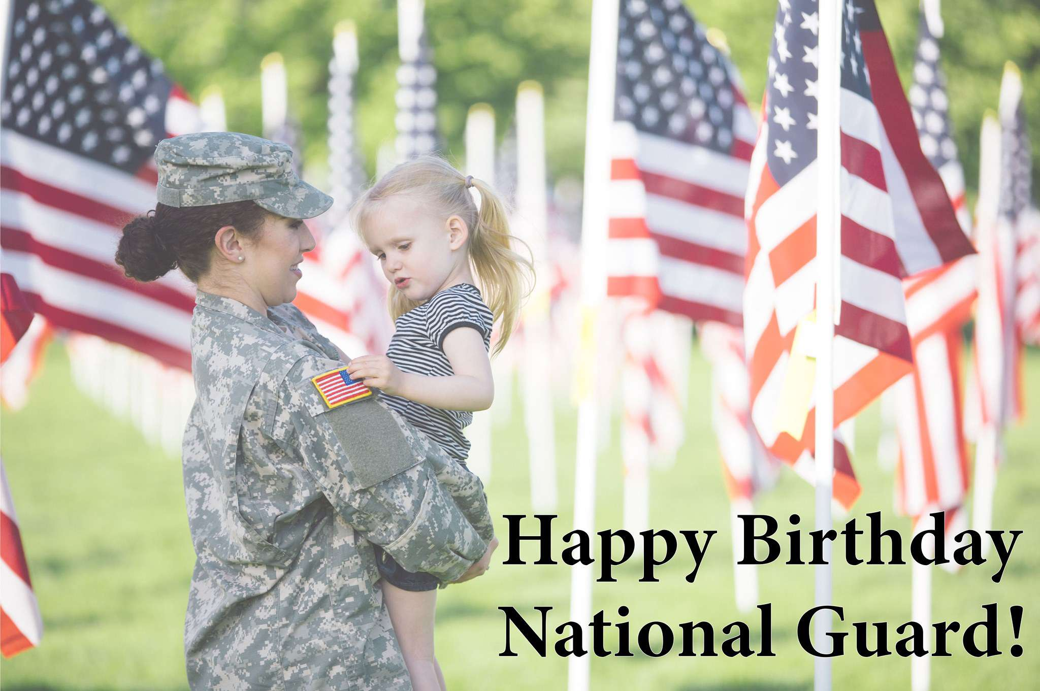 U.S. National Guard Birthday Wishes Awesome Images, Pictures, Photos, Wallpapers